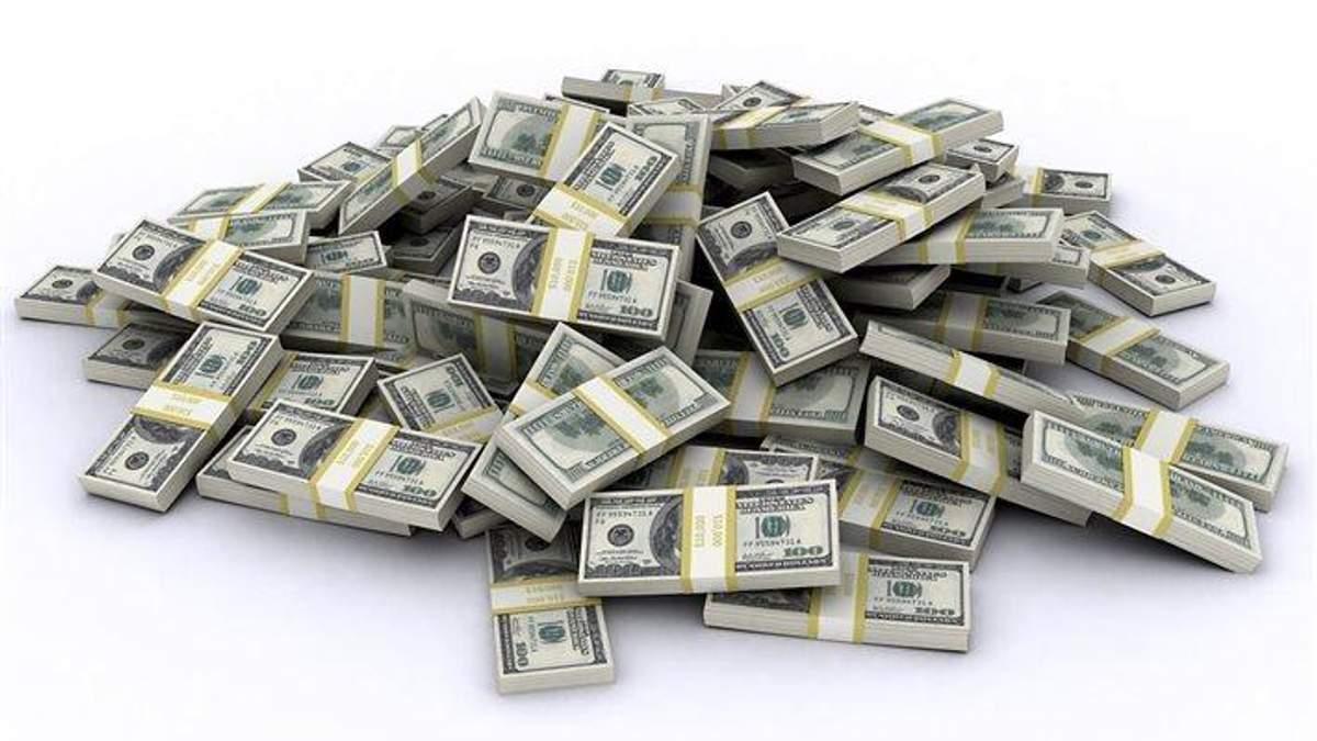 В казну Украины поступила немалая сумма денег от размещения евробондов