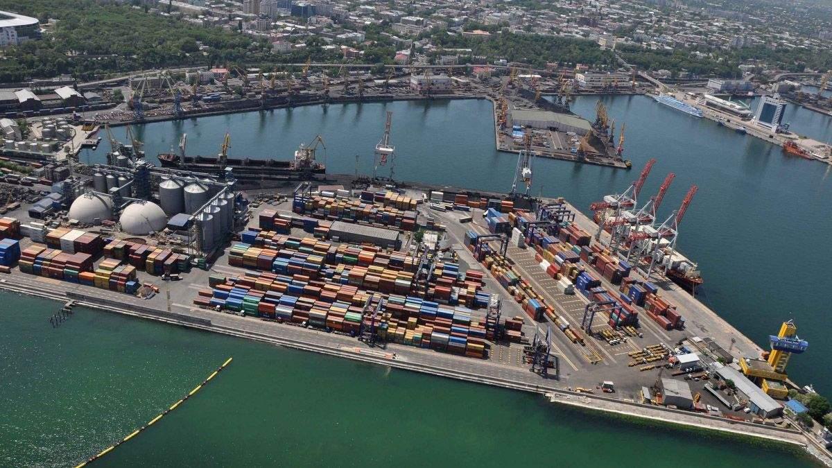 Причал Одеського порту реконструюють за мільярд гривень