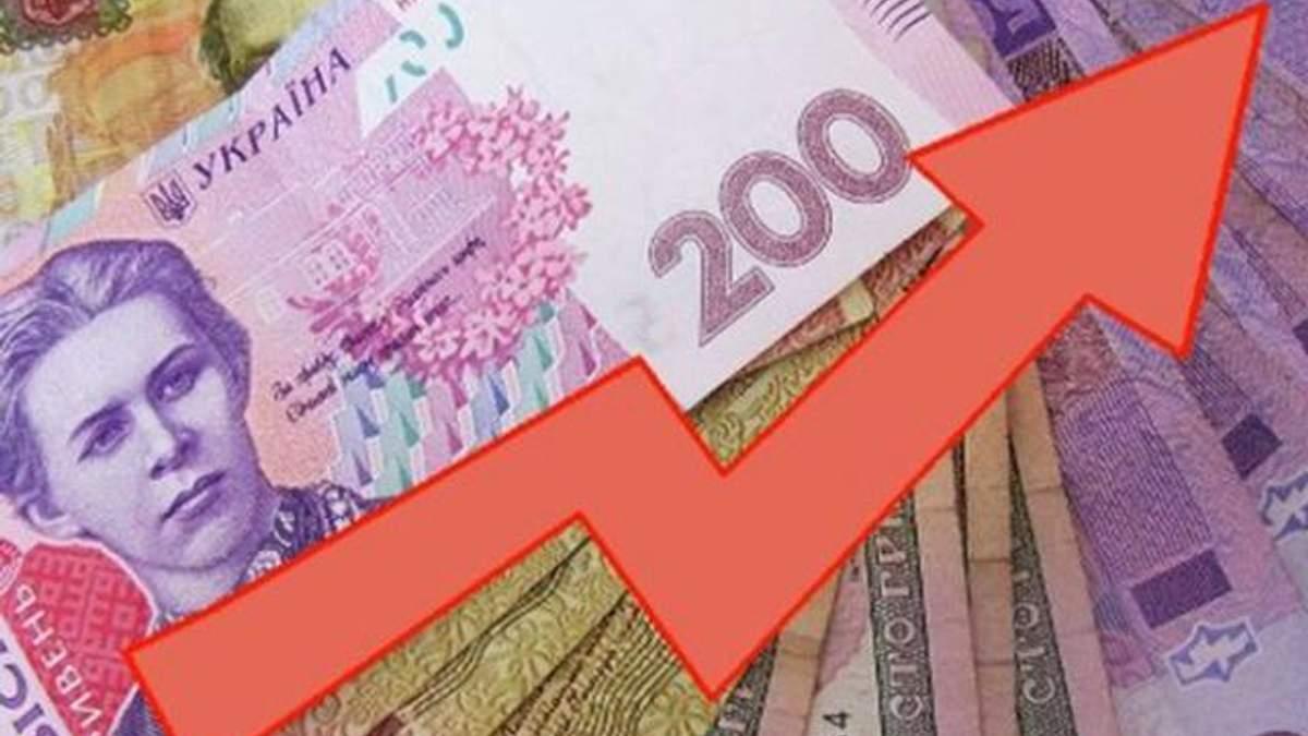 Зарплата в Украине выросла на 17% в августе