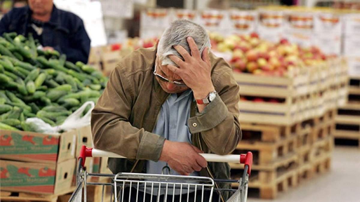 Из-за падения курса гривны в Украине стремительно начали расти цены на продукты