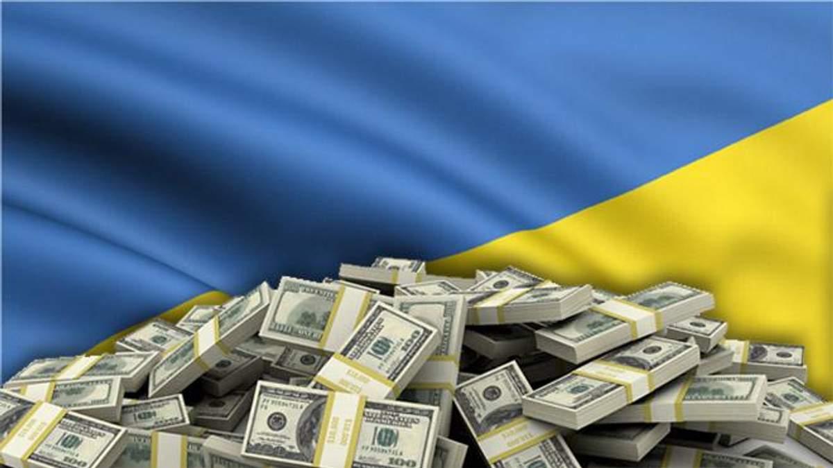 Какую сумму международной помощи получила Украина в 2017 году