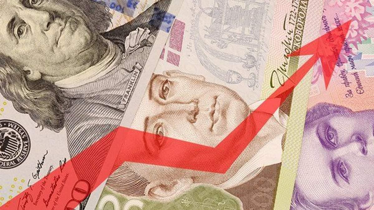 Зростання гривні в Україні