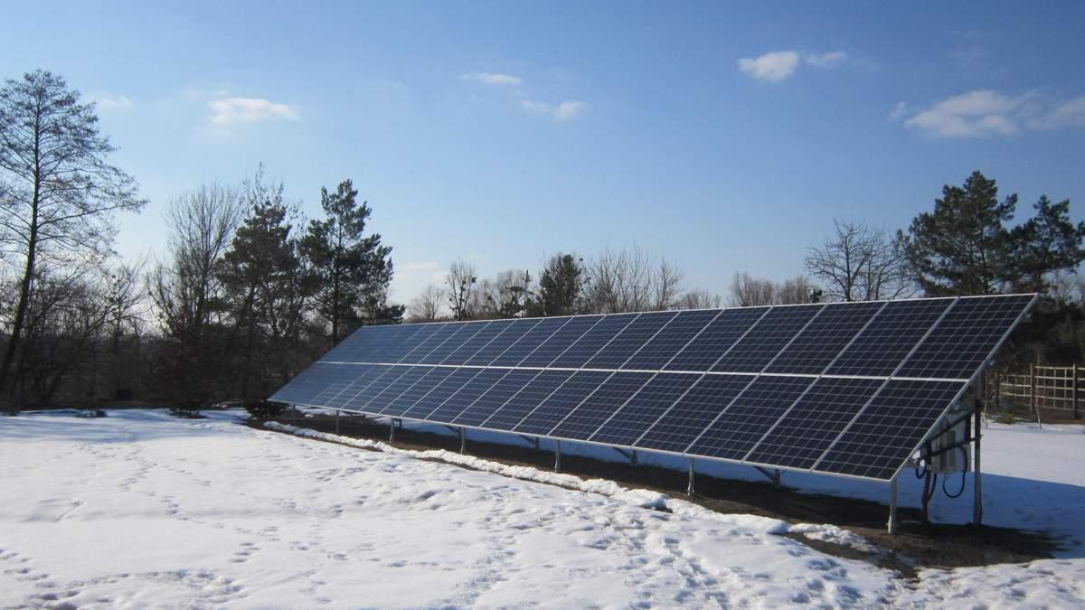 Сонячна електростанція ловить промені