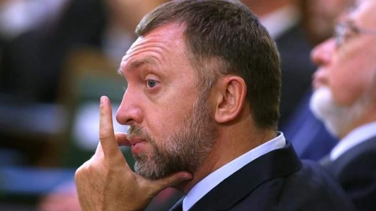 Компанії російського олігарха Дерипаски втратили в ціні 2,5 мільярда доларів після санкцій США