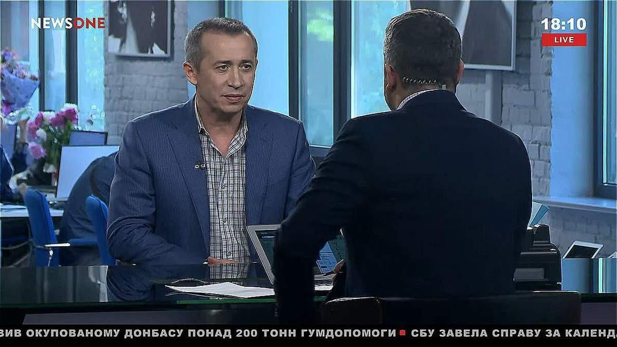 Загид Краснов в эфире телеканала NewsOne