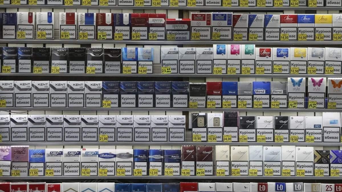 Верховна Рада розгляне проект закону про заборону викладки сигарет в місцях продажу