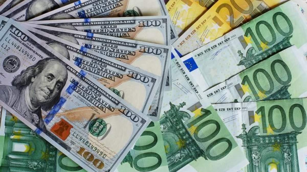 Готівковий курс валют на 29-10-2018: курс долару та євро