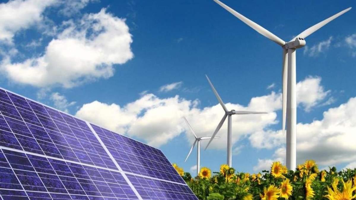 Доля возобновляемой энергии в Украине вырастет в ближайшие годы