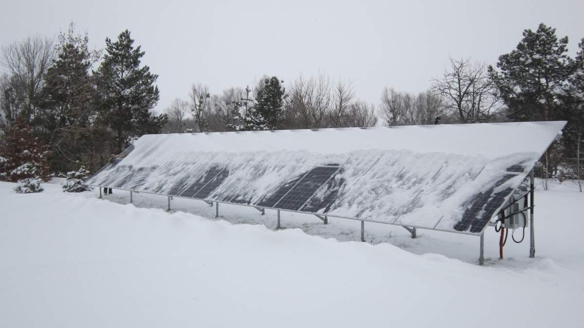 Сніг – ворог СЕС