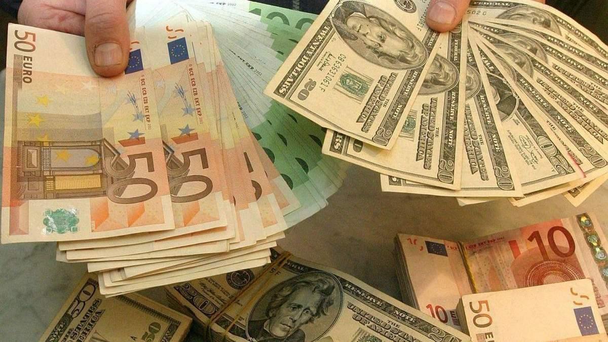 Готівковий курс валют 28 січня: гривня падає