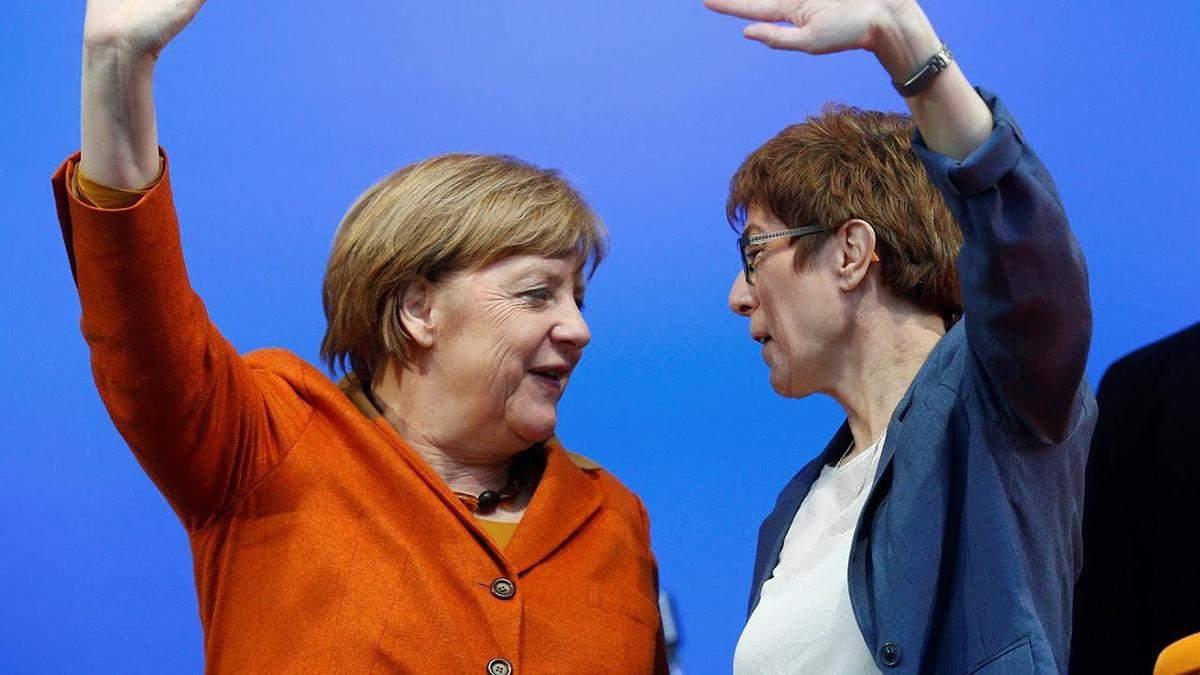 """Преемница Меркель поддержала """"Северный поток-2"""""""