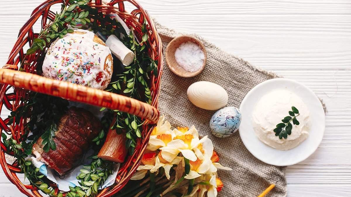 Пасхальная корзина 2019 - цены на продукты на Пасху в Украине