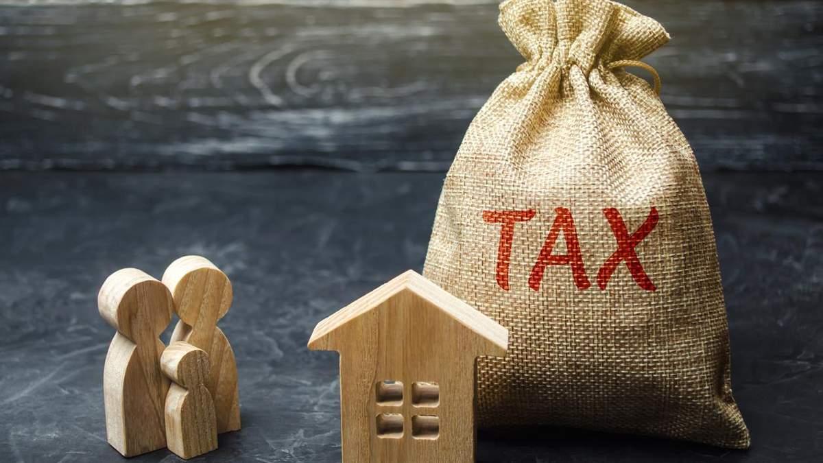 Какую сумму налога на недвижимость украинцы уплатили с начала года