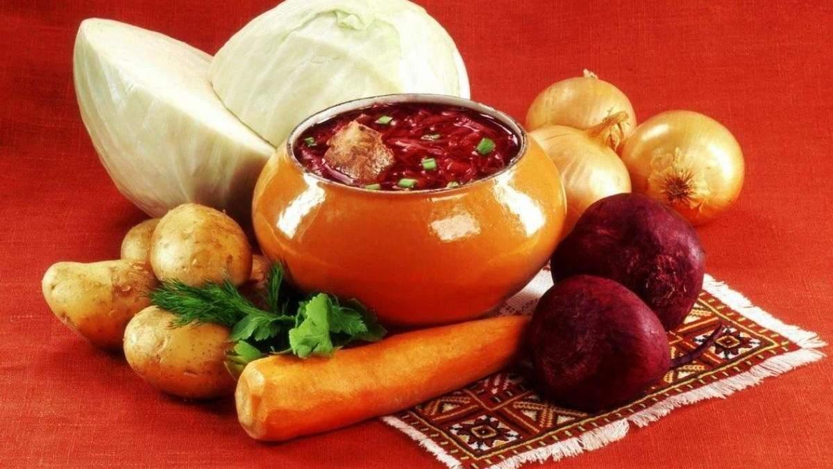В Украине продукты для борща стоят дороже, чем в Польше