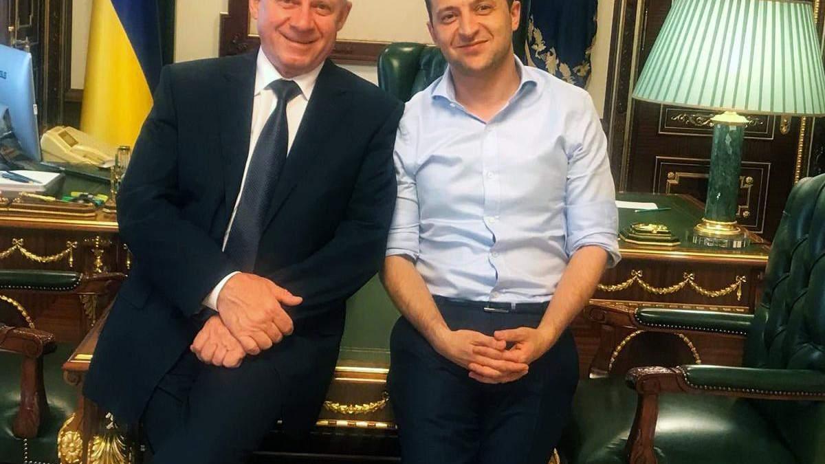 Зеленський зустрівся з головою НБУ: про що говорили