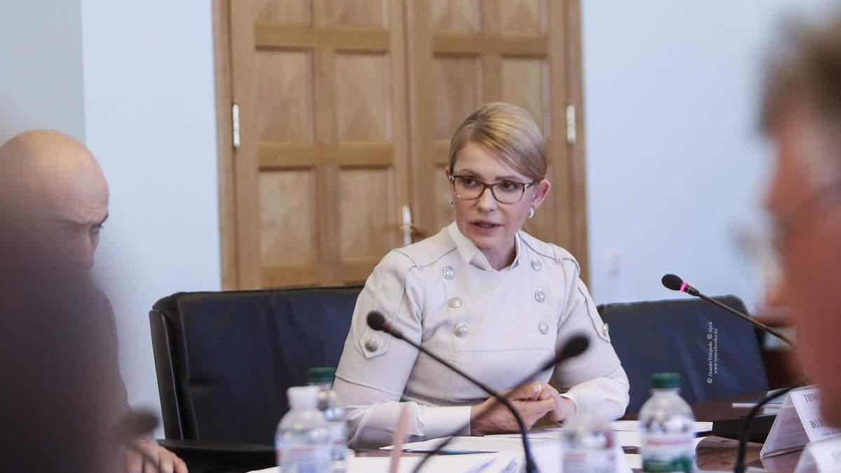 Ми зупинимо крадіжку стратегічної власності держави, – Тимошенко до Рахункової палати