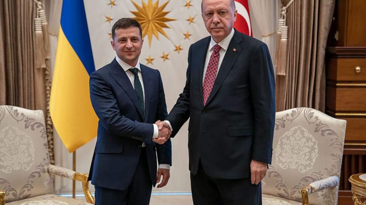 Владимир Зеленский встретился с Реджепом Эрдоганом в Турции 7 августа 2019
