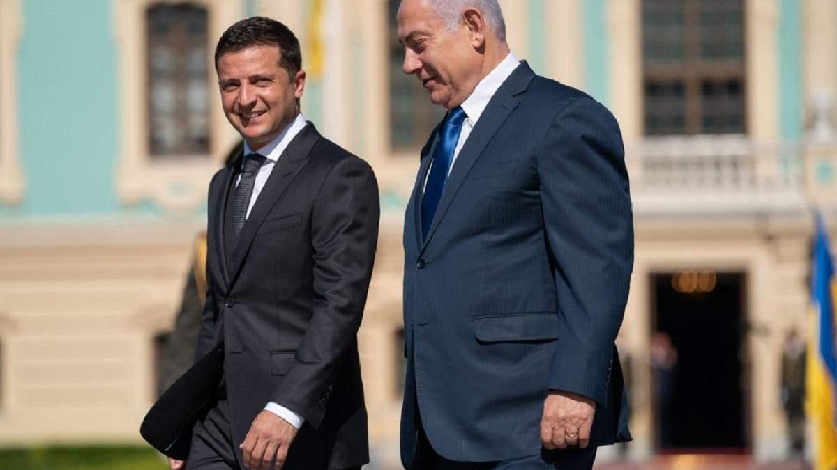 Совместный брифинг Зеленского и Нетаньяху: главные тезисы