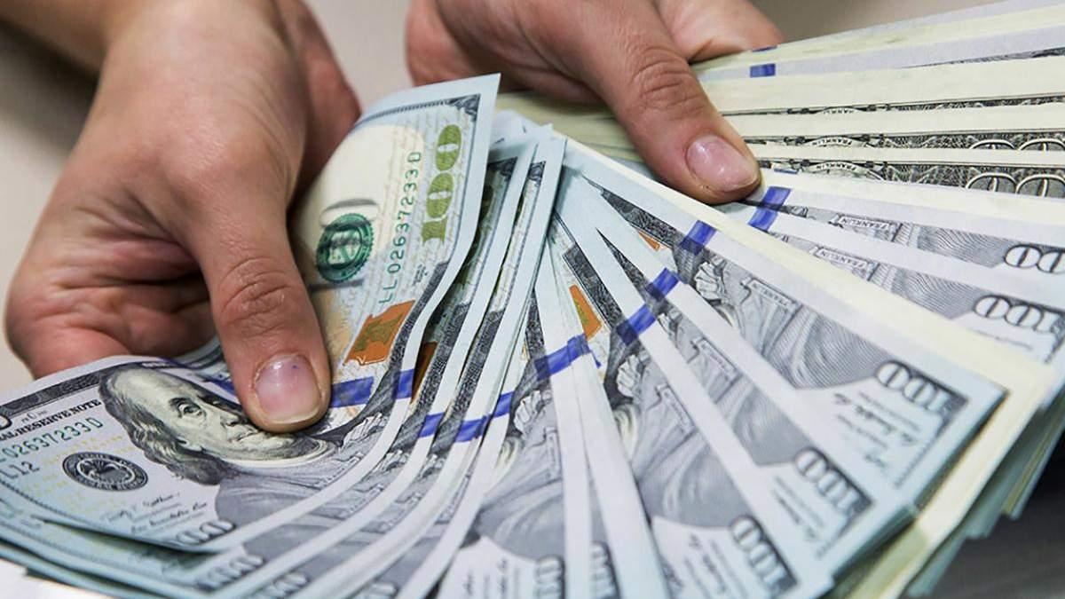 Зарплата в Україні в доларовому еквіваленті