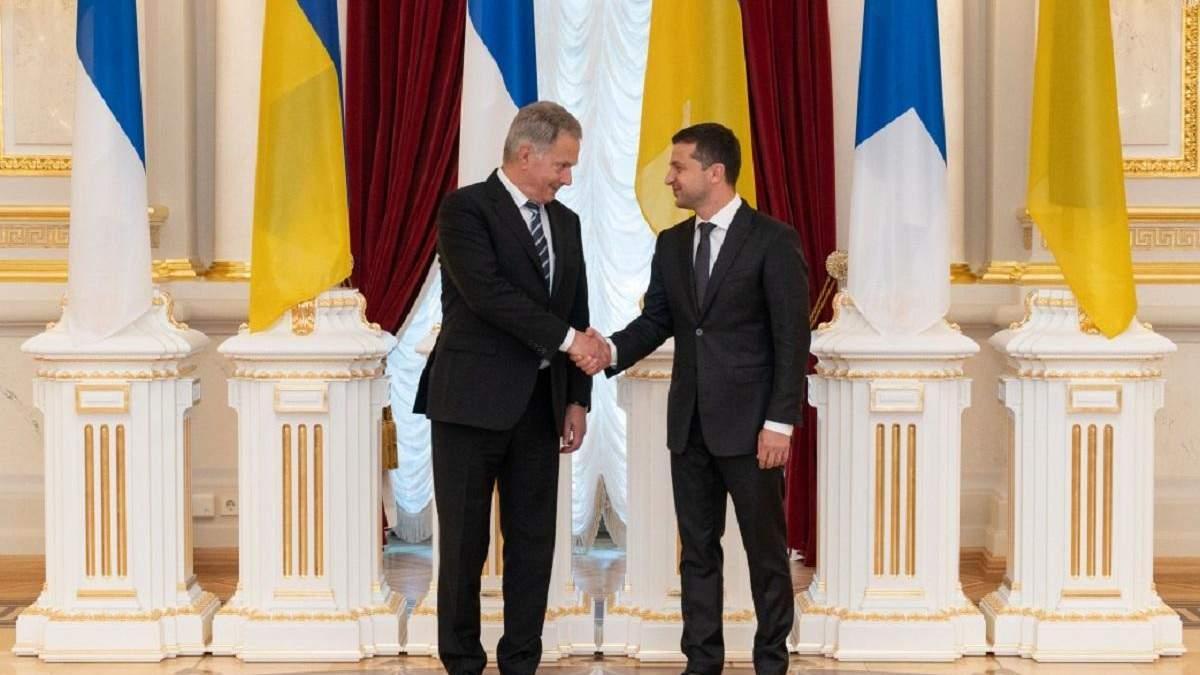 Зеленский встретился с президентом Финляндии Ниинистё: главные тезисы и договоренности