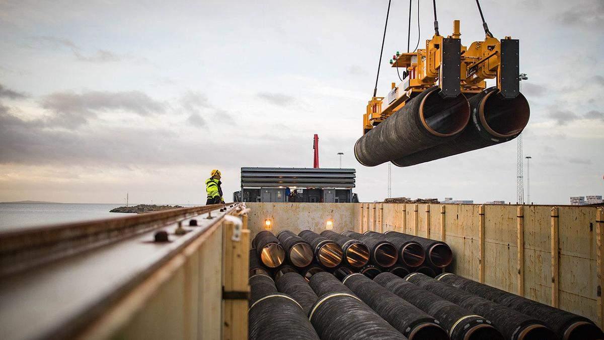 """Росія готова будувати """"Північний потік-2"""" в обхід Данії, яка не дала дозволу"""