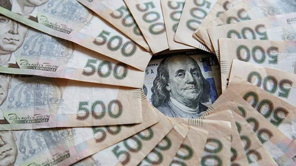 На підтримку гривні НБУ витратив 200 мільйонів доларів
