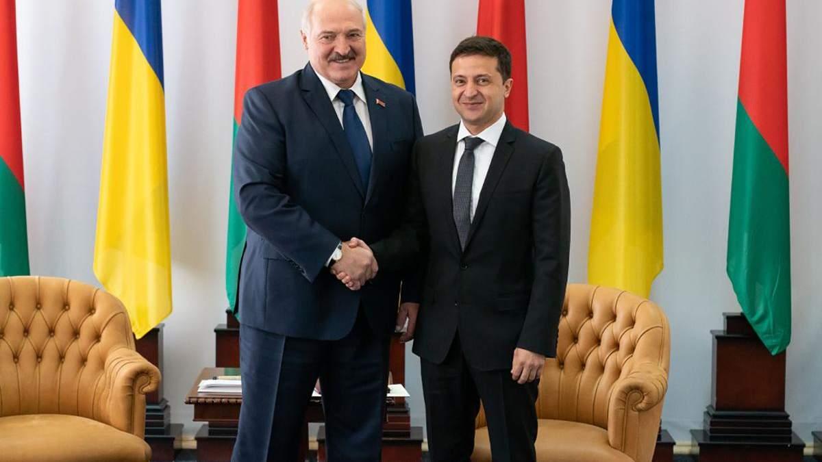 Встреча Лукашенко и Зеленского