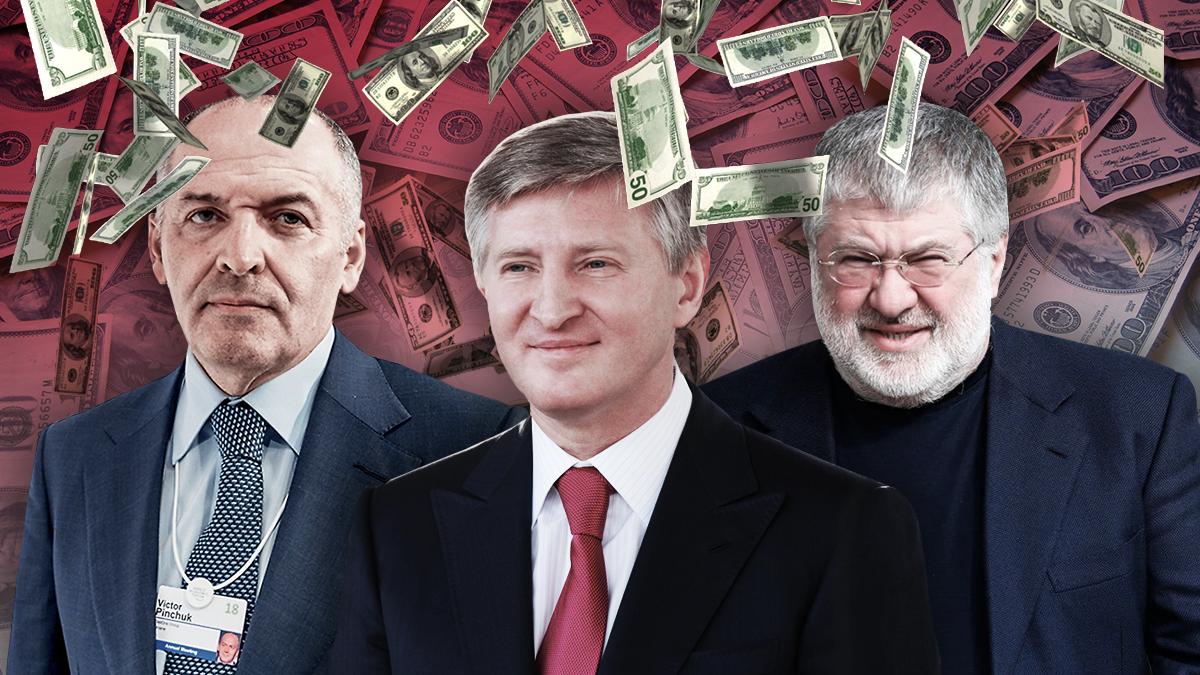 Скільки років треба працювати українцеві, щоб заробити статки 7 мільярдерів України