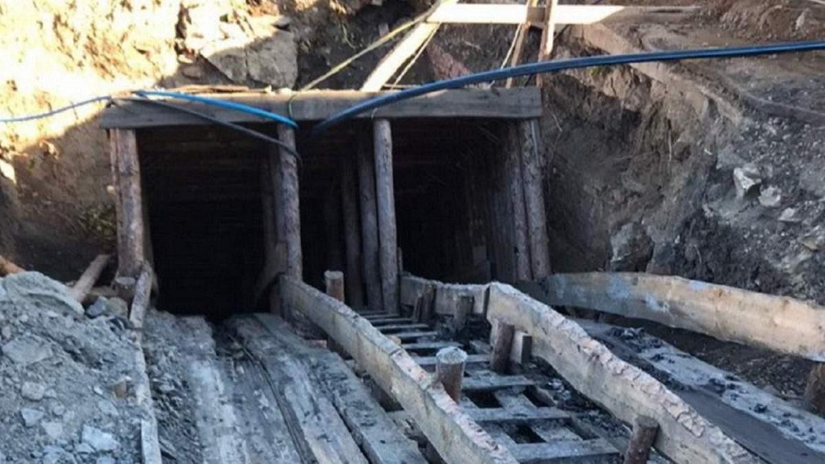 СБУ заблокувала незаконний видобуток вугілля на Донеччині
