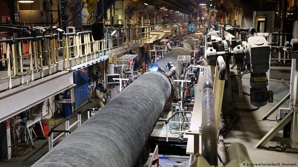 """Німеччина розкритикувала санкції США проти """"Північного потоку-2"""""""