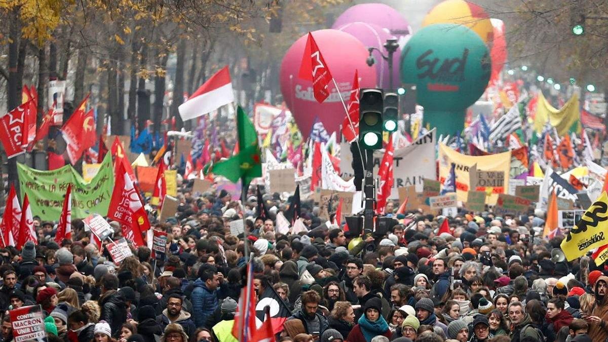 Забастовка во Франции от 5 декабря 2019: забастовка установила рекорд