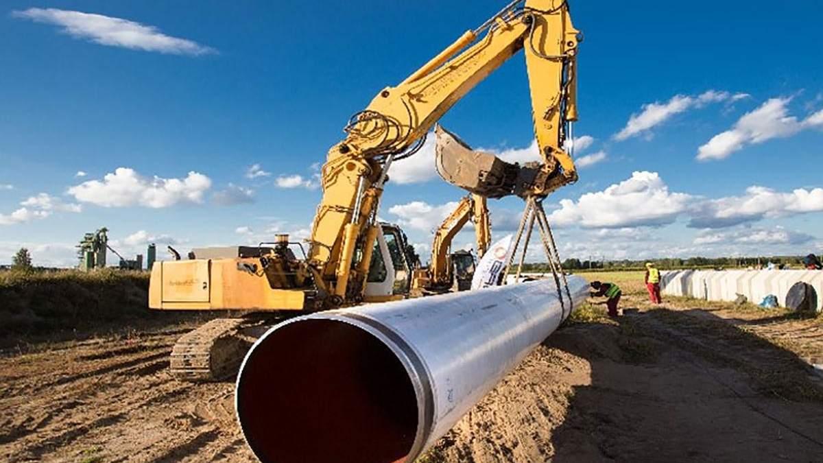 Україна передумала будувати новий газопровід до Польщі