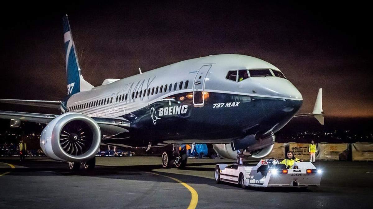 Boeing припинила виробництво літаків 737 MAX