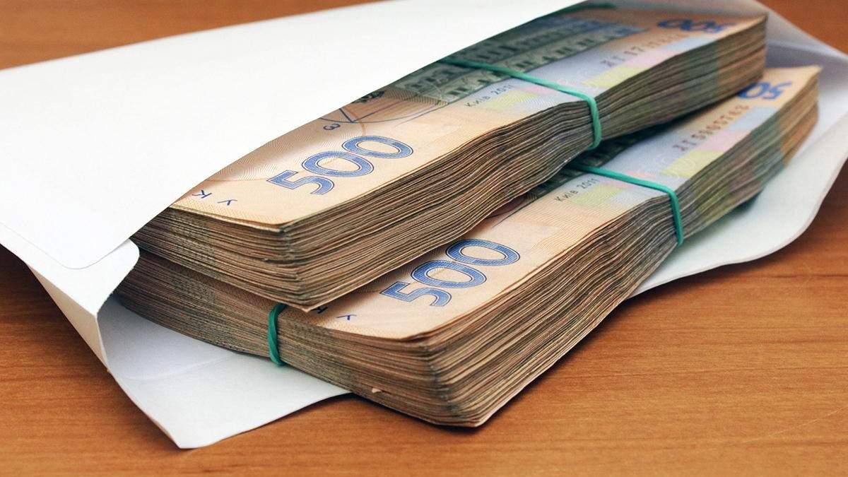 Зарплати в конвертах в Україні погоджуються отримувати більшість працівників
