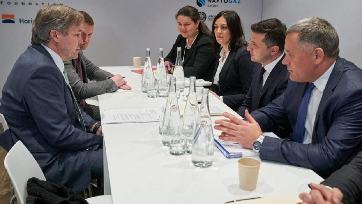Зеленский в Давосе встретился с руководителем агрокомпании, что вложила миллиарды в Украину