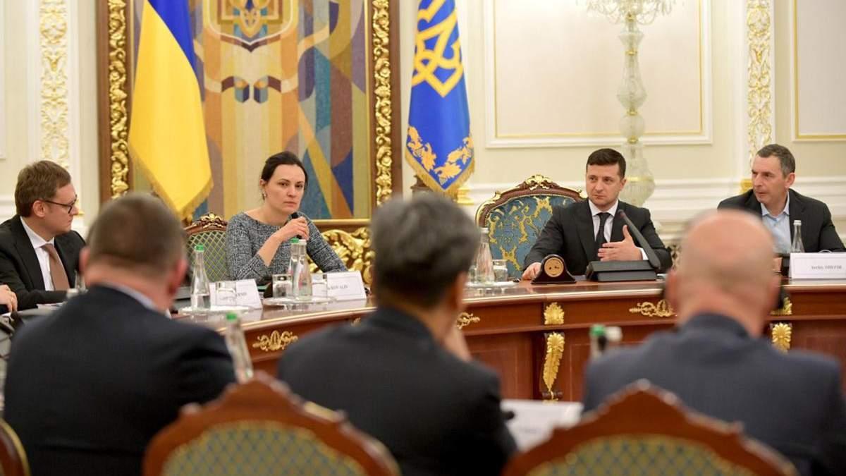 Зеленский встретился с представителями ведущих бизнес-ассоциаций страны
