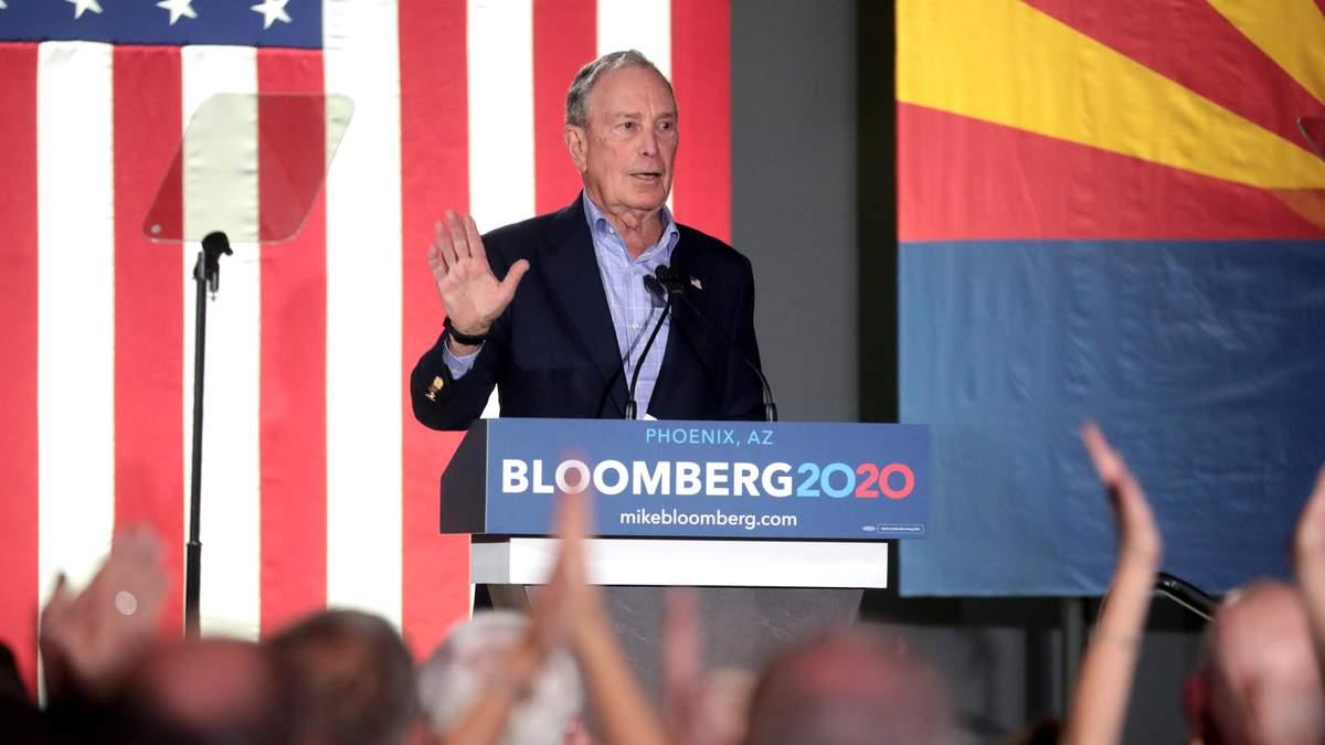 Блумберг продасть компанію, якщо стане президентом