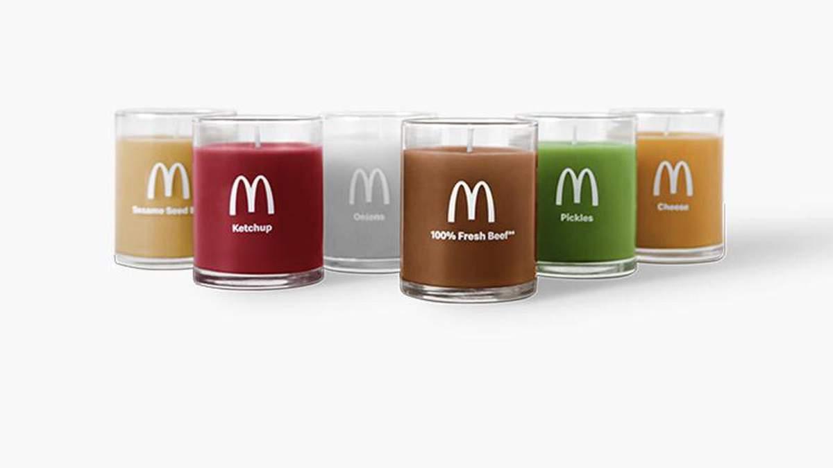 МакДональдз выпустит свечи с ароматами еды: яркие фото