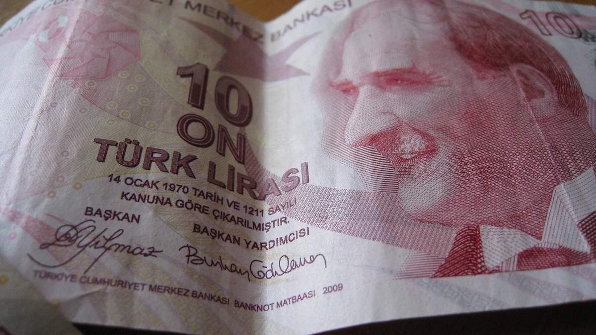 Турецкая лира упала из-за обострения конфликта в Сирии