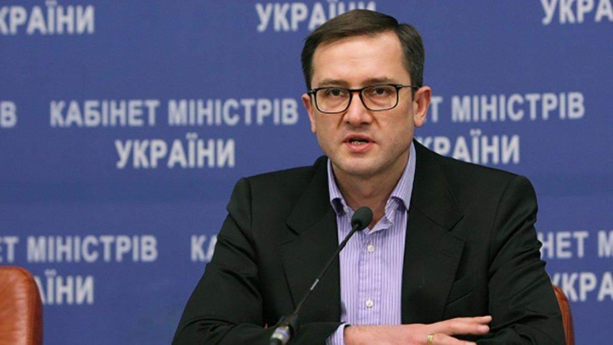 Міністр фінансів Ігор Уманський