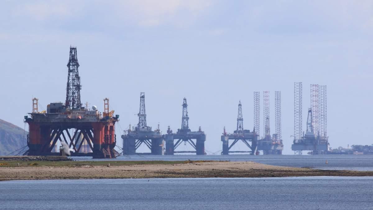 Ціни на нафту падають