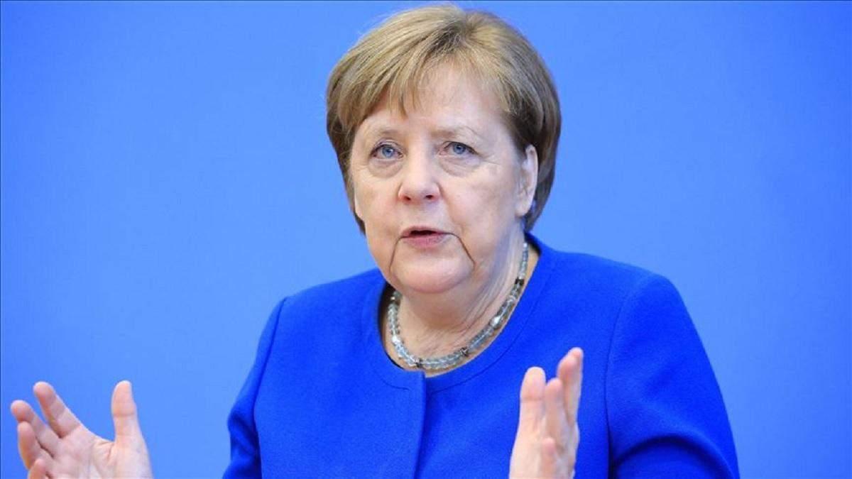 Меркель про випробування коронавірусом