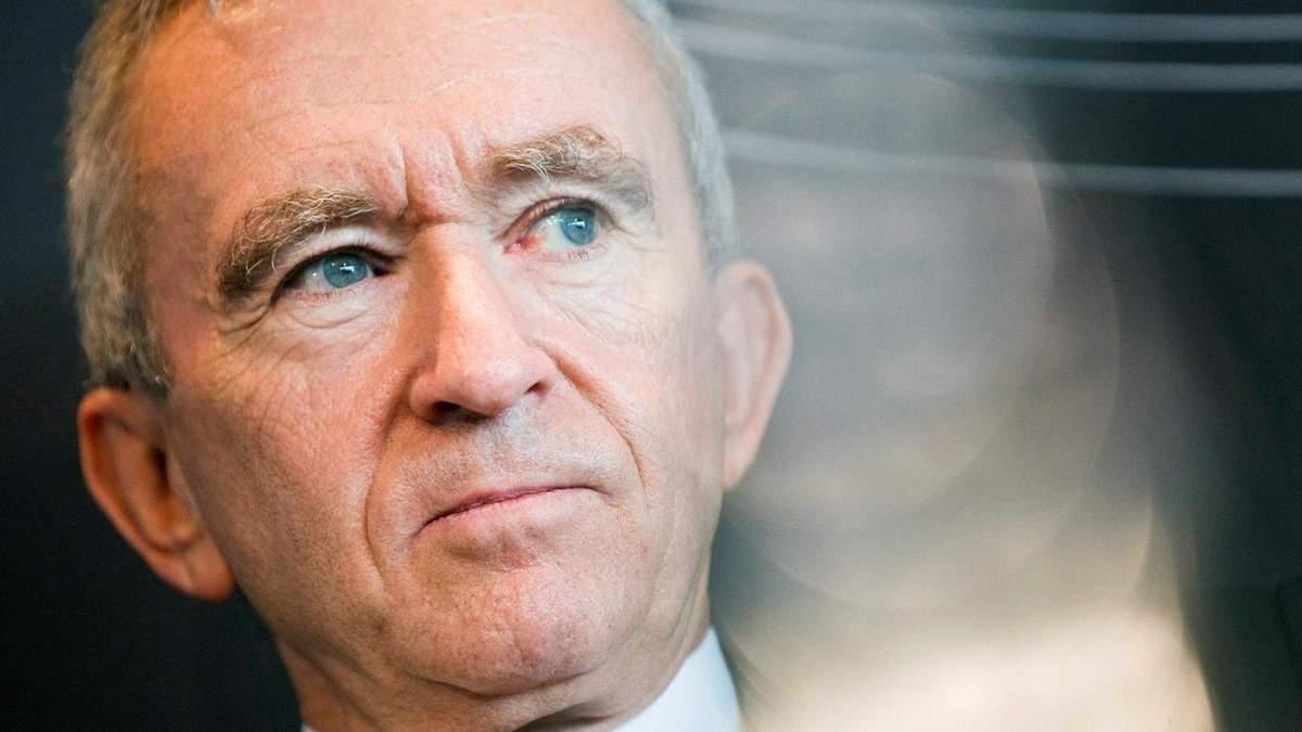 Топ-100 багатіїв втратили 408 мільярдів доларів за два місяці, найбільше – власник Louis Vuitton