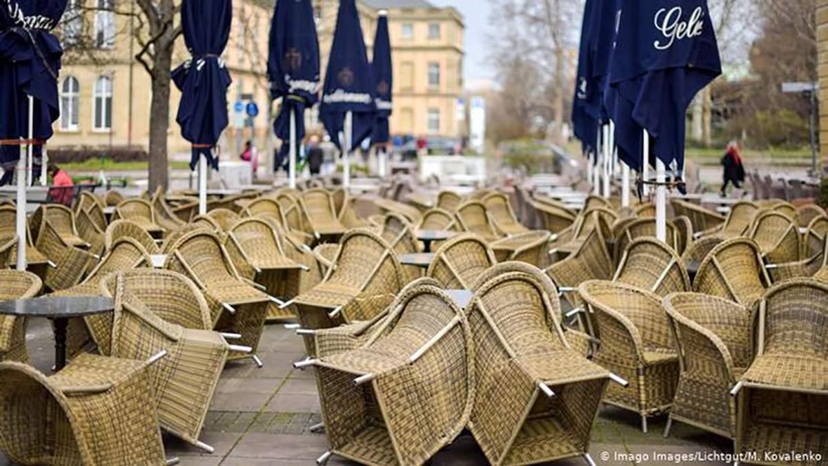 Кожному третьому готелю та ресторану в Німеччині загрожує банкрутство