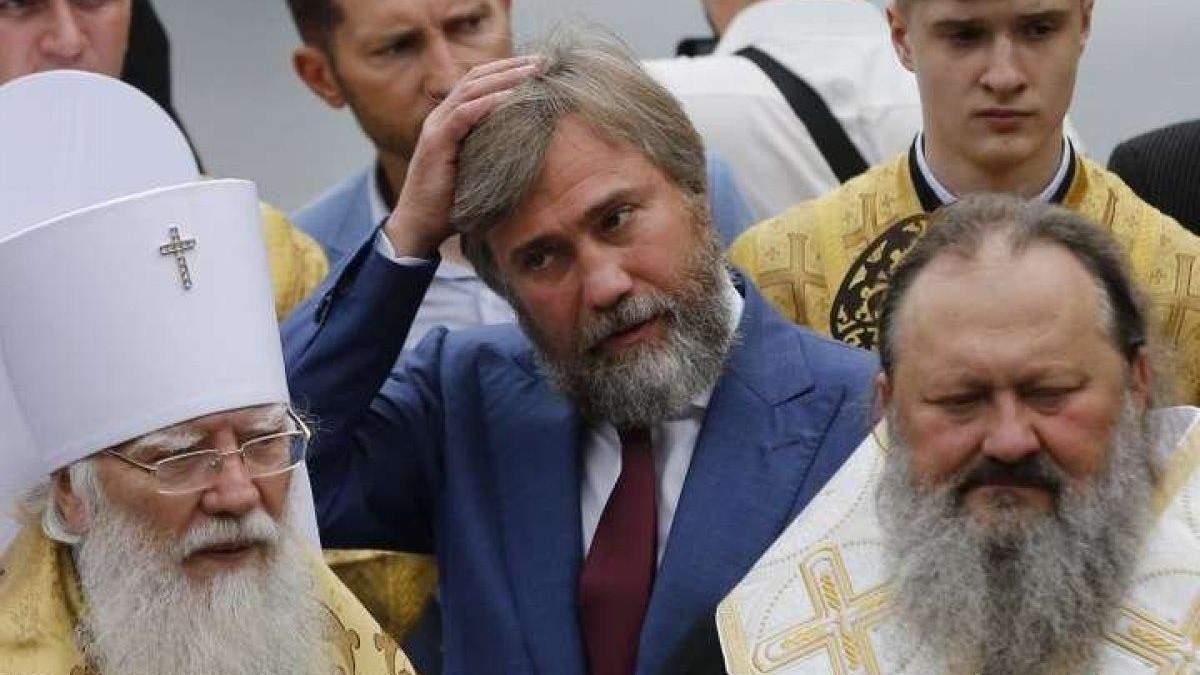 Вадим Новинський отримав коронавірус, але позбавився російських санкцій