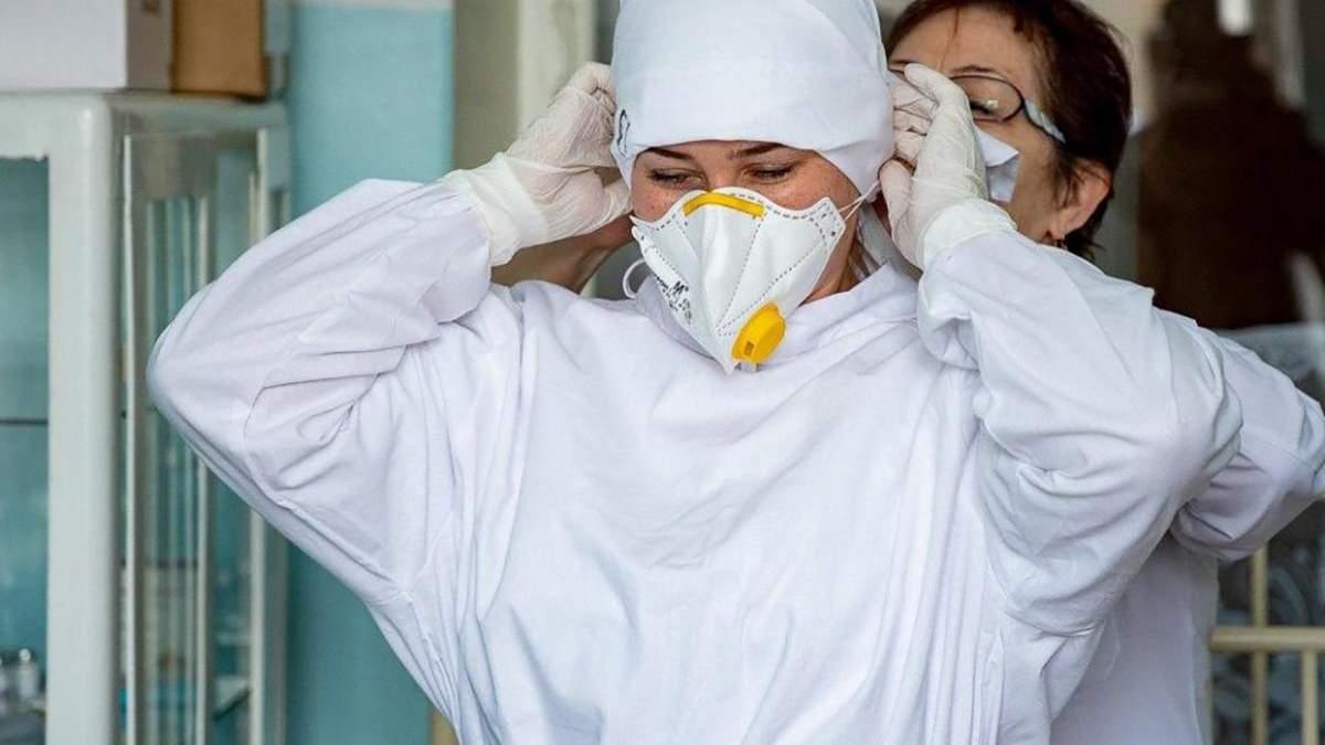У Києві медики отримали доплату за роботу з хворими на коронавірус