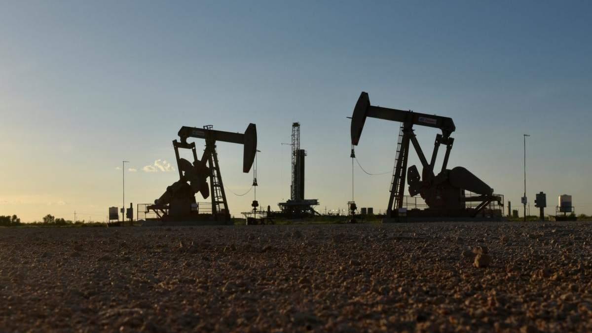 Падіння ціни на нафту