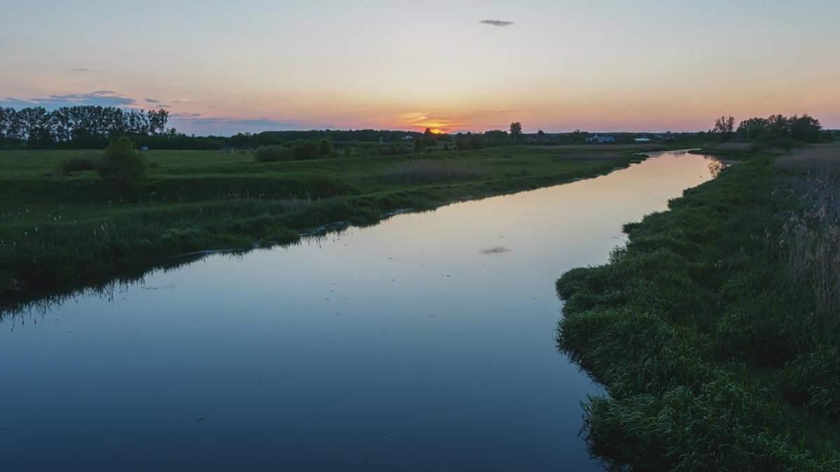 Уровень воды в реках 2020 снизился - обмеление рек в Украине