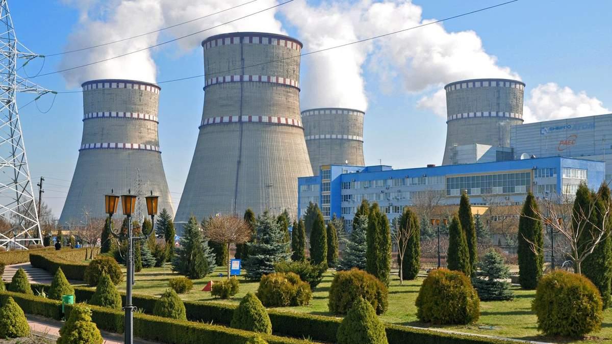 На Рівненській АЕС відключили атомний блок після спрацювання автоматики