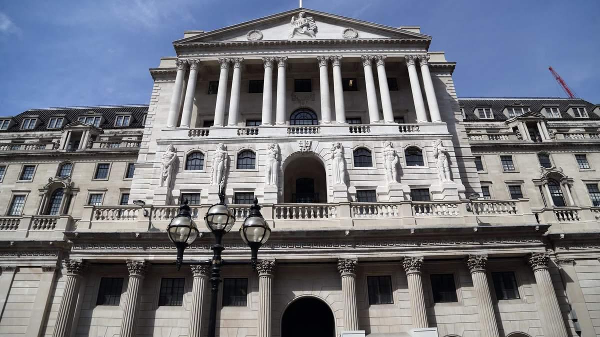 Банк Англії – центральний банк Великої Британії